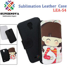 Alibaba Express Printable Leather Case for Samsung Galaxy S4