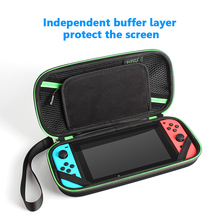 HSU Carrying Case Carry Bag Protective Storage Bag With 8 Game Holder for Nintendo Switch