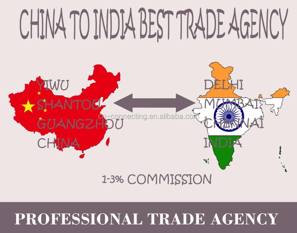BEST YIWU TO INDIA TRADE AGENCY/SERVICE MORE THAN 50 INDIA COMPANY