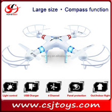 China Model 2.4G 4 Axis gyroscope toy Compass Big drone model rc large quadcopters with camera