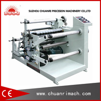 PLC Controlled Auto Loading Roll Slitting Machine For PVC