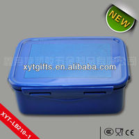 Square/rectangle Flip Plastic Box Plastic Carrying Case For Lunch