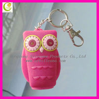 Fashional and portable owl shape 30MLbath body works silicone hand sanitizer cover