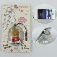 cell phone accessory 2 inch toy fashion bear stand holder