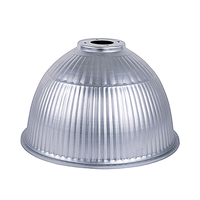 high bay light fittings anodized spinning aluminum polished reflector led 400w