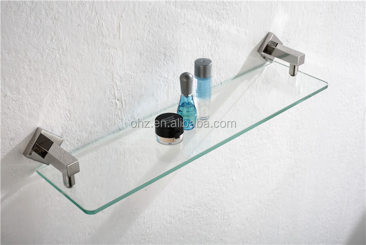 2305 storage bathroom accessories and wall mount glass shelf