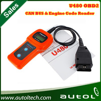 2015 Professional tech support engine fault code reader u480 obdii memo scanner ,auto diannostic scanner u480 with best price