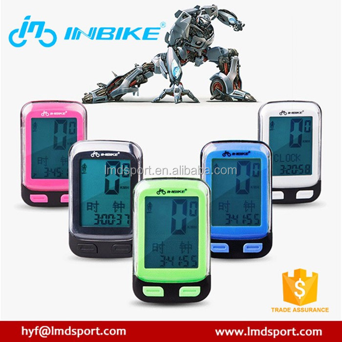 Cycling power meter bike computer for road bike with gps switch