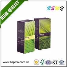 New design best selling customized paper cosmetic box for wholesale paper cosmetic folding boxes olive oil packaging box