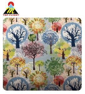 Custom digital print polyester fabric sublimation transfer printing on 100% cotton fabric