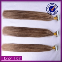 Ladies favorite! 2015 Most fascinating indian curly tape hair extensions, expression 613 blonde hair weave