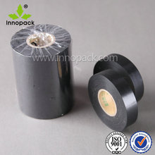Black PVC insulating tapes with good fire resistance green color for home and industry use