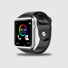 A1 bluetooth touch screen china smart watch sync for iphone