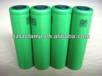 3.7v sony US18650V3 2250mah 10A high power 18650 rechargeable li-ion battery