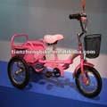 With hot selling pink tricycle in shanghai fair/2 years to 5 years/beautiful children tricycle with carrier