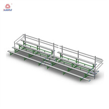 Easy install mobile retractable bleachers seating/outdoor bleacher sports seating/plastic baseball stadium seats