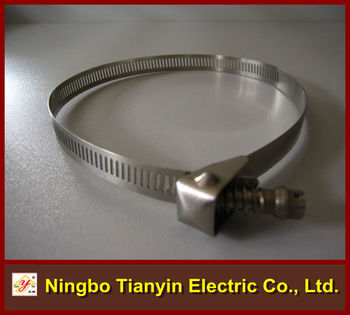 12.7mm bandwidth perforated quick release hose clamp