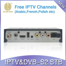 Arabic,UK,French,German iptv set top box Support WIFi via USB