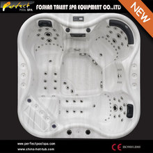 Chinese luxury 5 person outdoor spa and whirlpool bath out hot tub