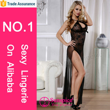 Latest design mature sexy mature baby doll lingerie