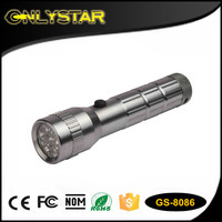 Onlystar GS-8086 hot sale AAA battery 14 led powerful portable mining flashlight