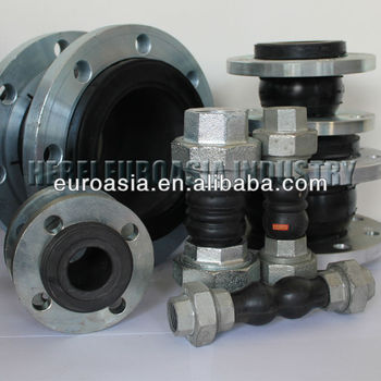 Hydraulic Rubber Expansion Joint With Flange or Union End