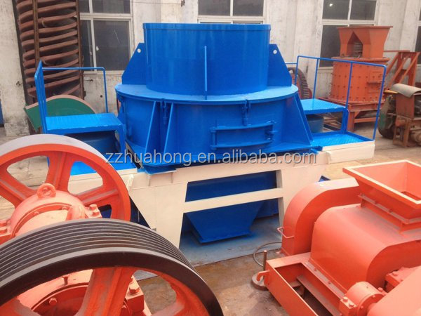 HUAHONG VSI series high efficiency vertical shaft impact crusher,sand making machine for sale