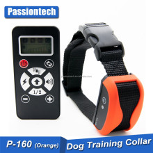 Passiontech Rechargeable remote control No barking trainer shock electronic dog pet training collar