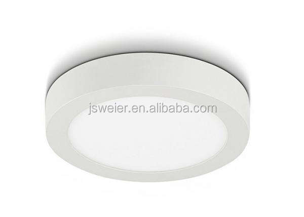 Round ceiling light 6w 12w 18w 24w SMD led surface mounted downlight