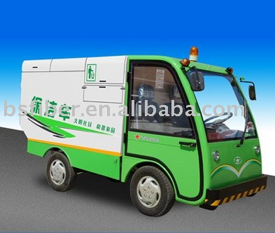 electrical cleaning tricycle