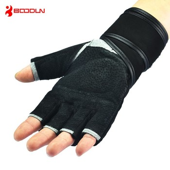 Foam padded silicone anti-slip gym weight lifting bodybuild gloves whit high quality