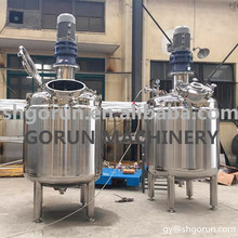 Trade Assured Factory Sale Vertical SUS304 Fruit Jam Use 100L Sugar Mixing Tank
