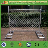 Galvanized Chainlink Temporary Fencing/Pool Fence/Mobile Fence