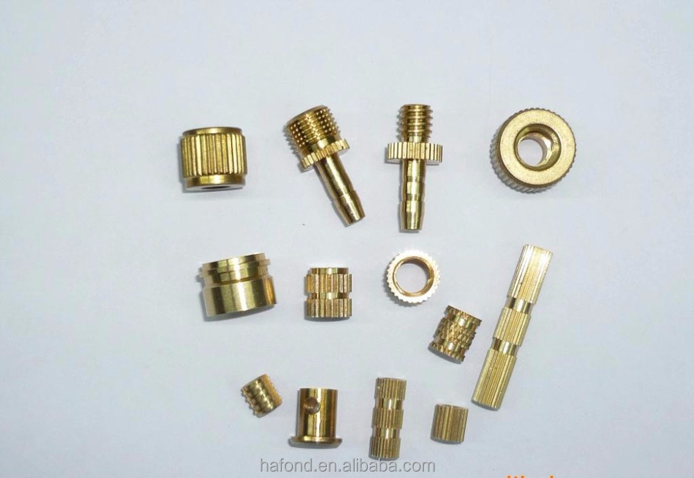 China Supplier Supply CNC OEM Customized self tapping threaded inserts
