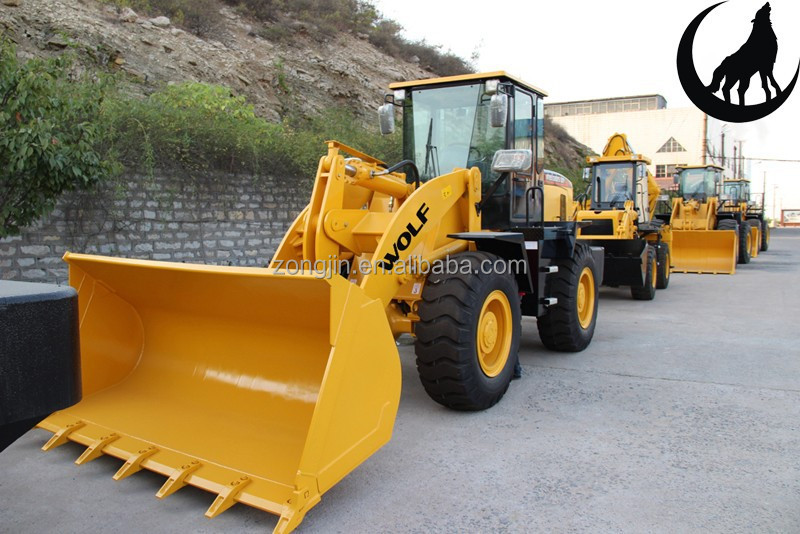 WOLF loader WL300 3 Ton wheel loader with ZF transmission