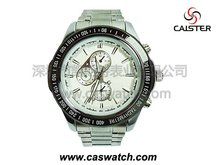 Heavy stainless steel watch for men
