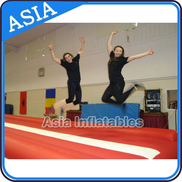 Custom Size Durable rolling Mat For Gymnastics Cheap Inflatable Air Track For Sale
