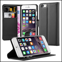 Wallet Leather Moblie Phone Case Cover with Card Holders for Apple iPhone 6