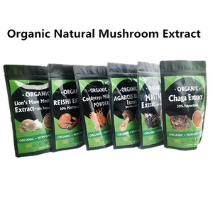 OEM Free Sample Blend Mushroom Powder Reishi Shiitake Mushroom Extract for Health