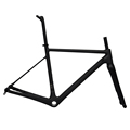 Dengfu BB30 BSA T800 carbon fiber super light disc brake road bike frame carbon