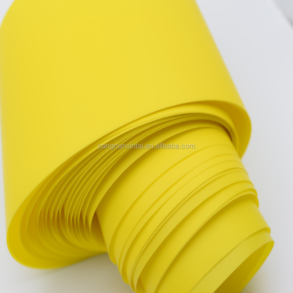 China yellow pp polypropylene sheet roll for insect sticky trap