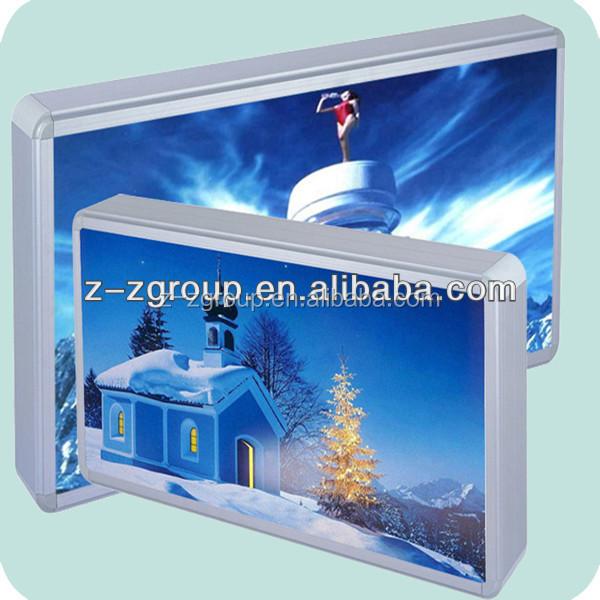flex face Aluminum profile for outdoor light box