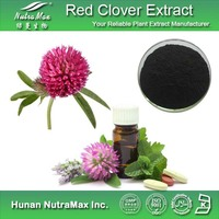 GMP&ISO Red Clover Plant Extract/Red Clover P E/Natural Red Clover Powder