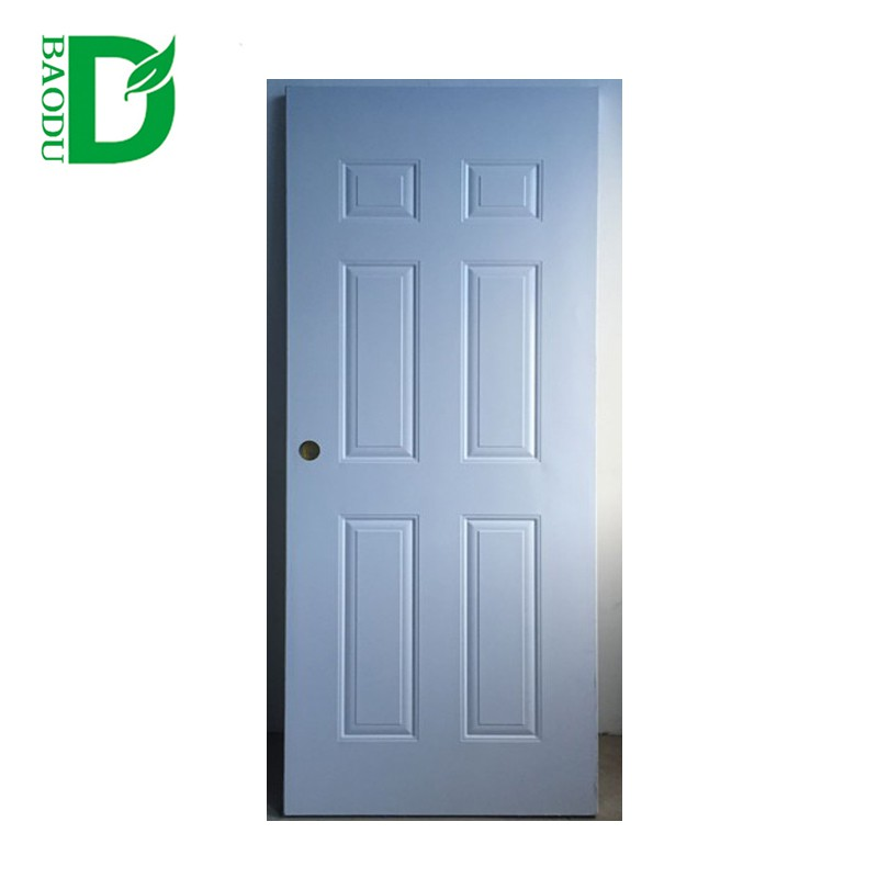Baodu brand 3*7' room door design american steel door