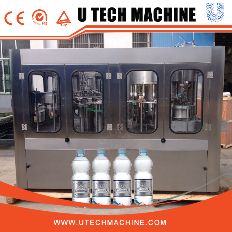 new design water pack in bottles machine or drinking water filling alkaline mineral water filling business