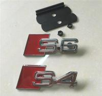 Metal Emblem S4 S6 Front Grill Tunning Badge