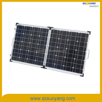 Folding Sunpower Solar Panels 100W Mono 50w*2pcs with Full Certificates