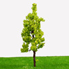 7cm R7027 Top selling Yellow green pagoda tree for architectural model tree/for Train Layout