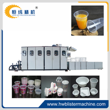 new condition disposable plastic cups thermoforming machine for sale