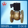 ZQDF-F series brass flange type steam solenoid valve
